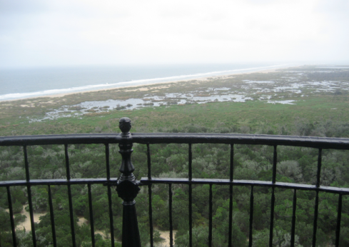 Cape Hatteras ligthouse - view from the top